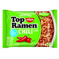 Deals on 24-Pack Nissin Top Ramen, Chili 3 Ounce