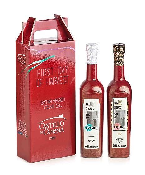 Castillo de Canena. Aceite de oliva, estuche Primer día de ...