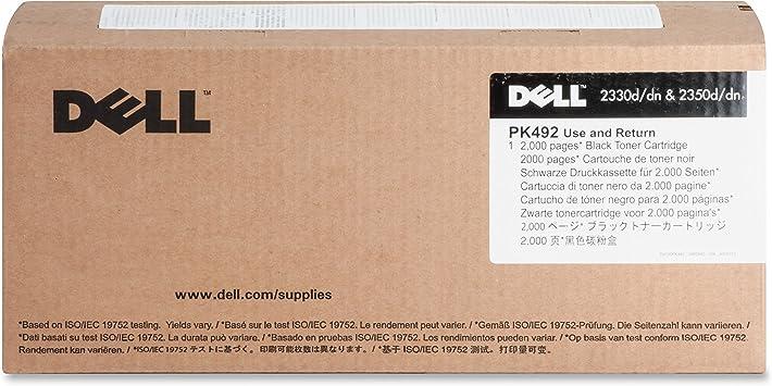 2350d//dn Laser Printer Dell DM254 Black Toner Cartridge 2330d//dn
