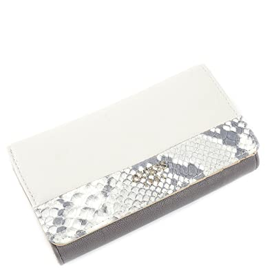 Guess Portemonnaie Cate Flap Organizer Taupe Multi