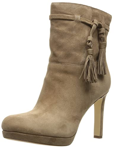 Via Spiga Ankle Bootie Women size 7.5 Brown Leather
