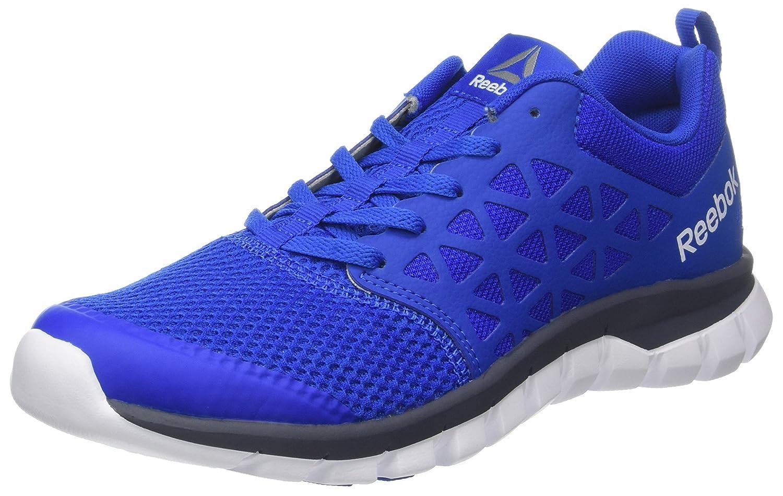 Reebok Sublite XT Homme Cushion 2.0 MT, Chaussures de Course Homme XT 42.5 EU|Bleu (Virtual Blue/Smoky Indigo/White/Pewter) e332f4