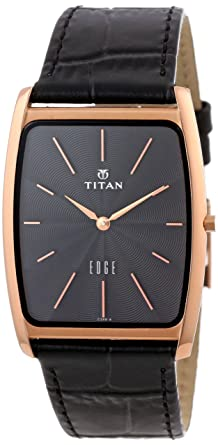 9e45c53f8c3 Image Unavailable. Image not available for. Colour  Titan Men s 1514WL01  Edge Ultra Slim 3.5mm Thin Watch