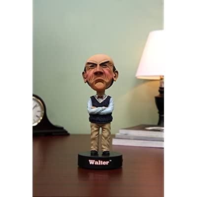 "NECA Jeff Dunham ""Walter"" Talking Head Knocker 1: Toys & Games"