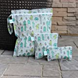 Bumkins Waterproof Wet Bag, Washable, Reusable