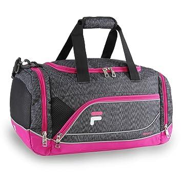4f153a3362 Amazon.com | Fila Sprinter Small Duffel Gym Sports Bag, Static Pink, One  Size | Sports Duffels