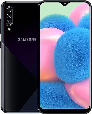 Samsung Galaxy A30s Dual SIM - 128GB, 4GB RAM, 4G LTE - Black, UAE Version