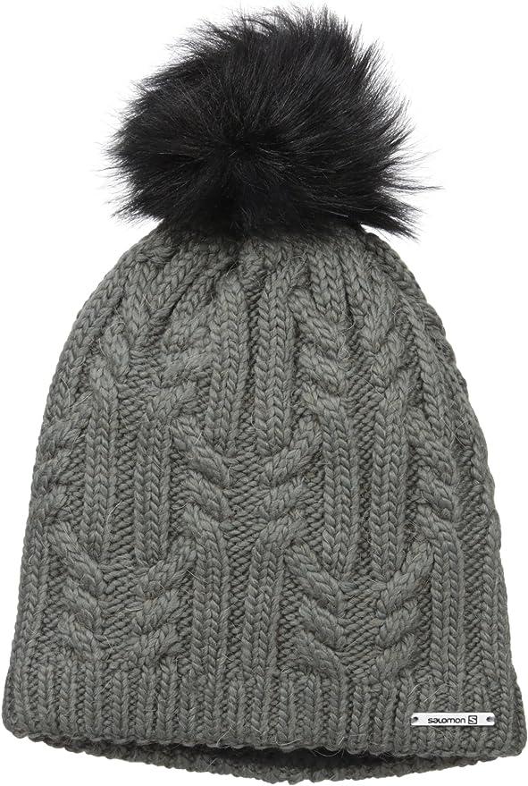 Salomon Ivy Beanie Iron Mütze für Damen, Farbe Grau, Größe JStTt
