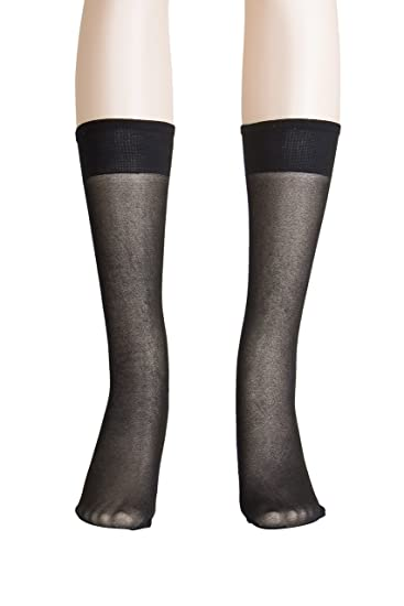 a30fa392b Light Support Knee High Stockings for Women - Plus Size Knee Highs ...
