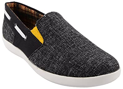 9482a828738ce Sparky's Men's Black & Grey Jute Sneakers - 10 UK: Buy Online at Low ...