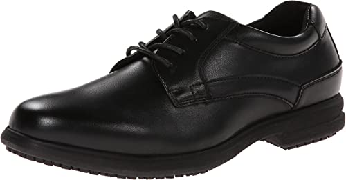 7. Nunn Bush Men's Sherman Slip-Resistant Work Shoe