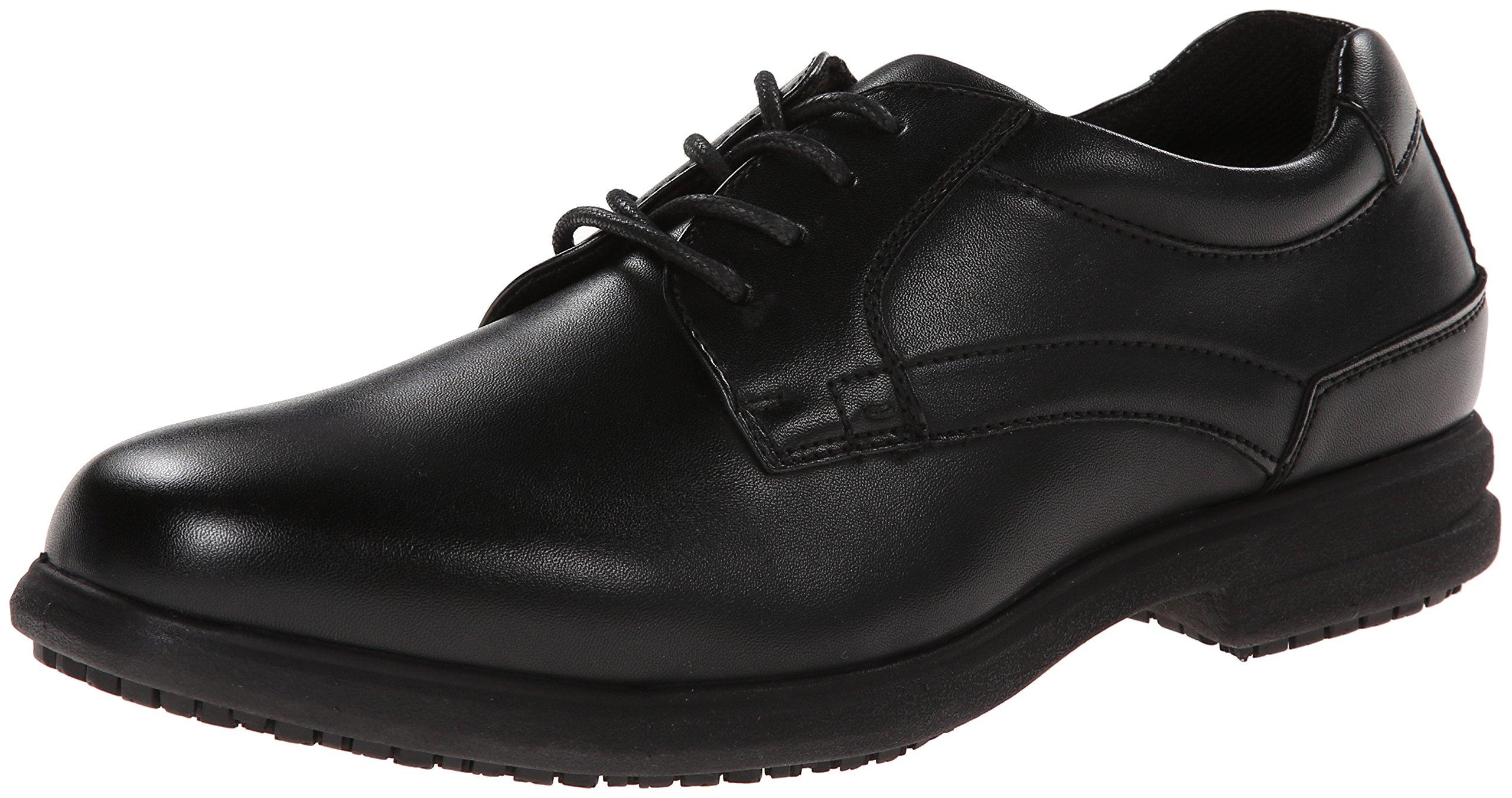 Nunn Bush Men's Sherman Slip-Resistant Work Shoe Oxford,9.5 W US,Black