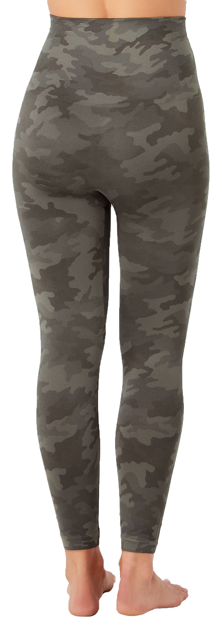 SPANX Look At Me Now Cropped Seamless Leggings (20099r), Sage Camo, XS by SPANX (Image #3)