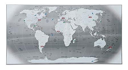 Seletti magnetic world map amazon kitchen home seletti magnetic world map gumiabroncs Images
