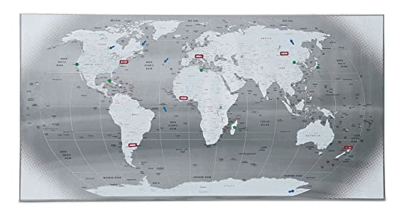 Seletti magnetic world map amazon kitchen home gumiabroncs Images