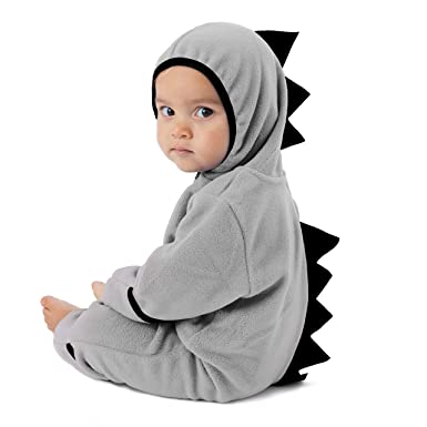 6243c06229e1 Amazon.com  Funzies Fleece Baby Bunting Onesie Jacket – Infant ...