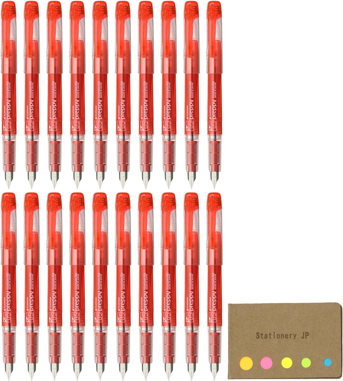 Platinum Fountain Pen Preppy refills red