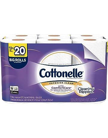 Cottonelle Ultra ComfortCare Toilet Paper, Big Rolls, 12 Count (Pack of 1)