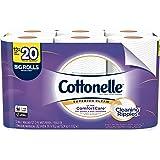Cottonelle Ultra ComfortCare Toilet Paper, Soft Biodegradable Bath Tissue, Septic-Safe, 12 Big Rolls