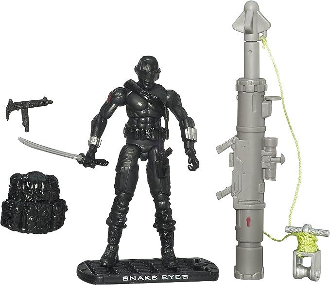 GI Joe The Rise of Cobra 3 3/4 Action Figure Snake Eyes Ninja Commando