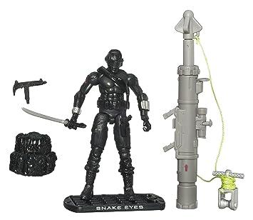 G.I. Joe The Rise of Cobra 3 3/4 Action Figure Snake Eyes ...