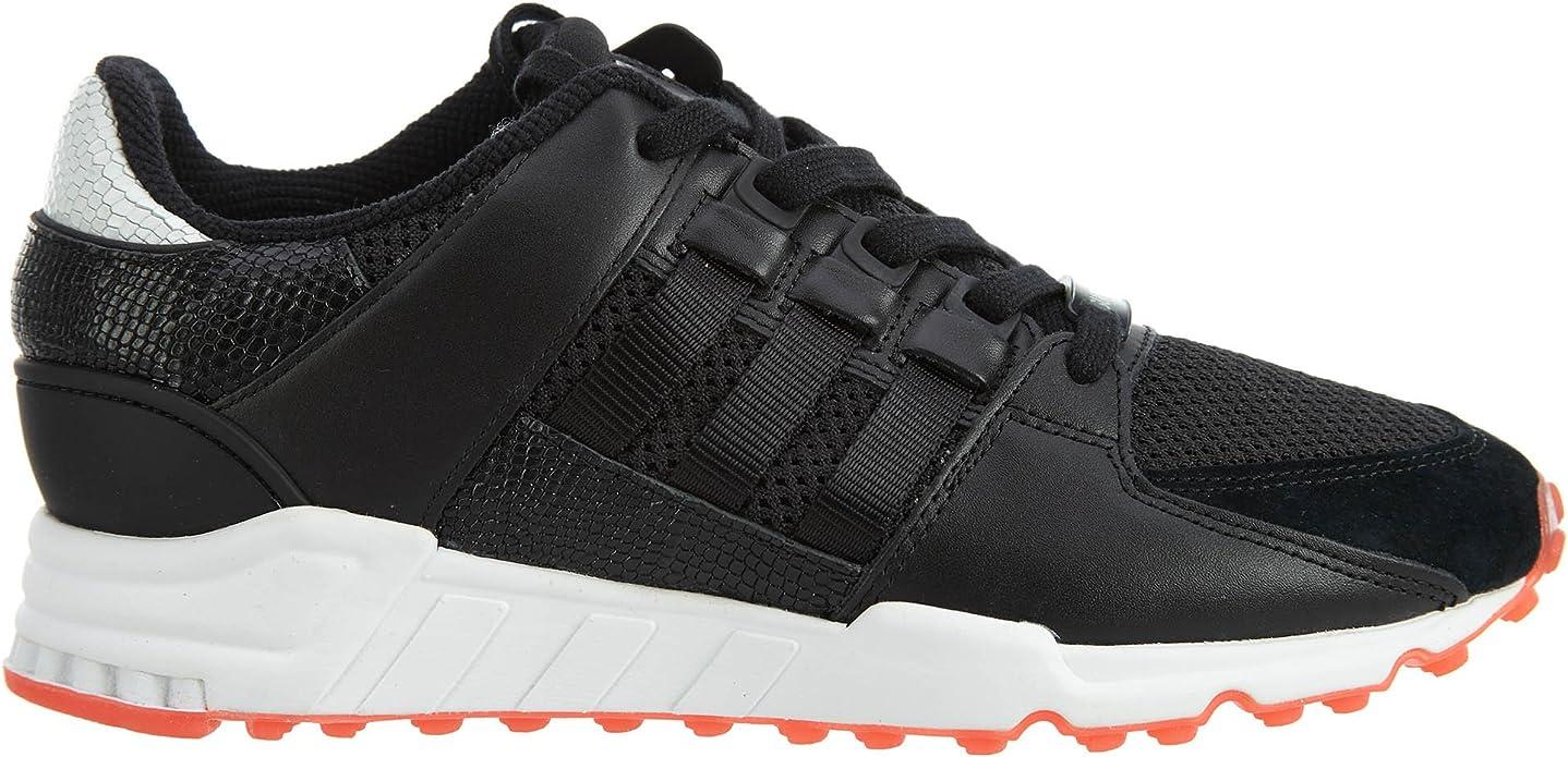 adidas Men EQT Support RF (Black/core Black/Turbo red)