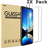 Zuzo iPhone X Tempered Glass Screen Protector [Case Friendly] [3D Touch] for Apple iPhone X / 10 (2 Pack)