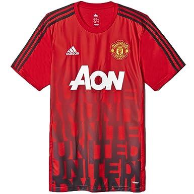 56aef688e Adidas Manchester United Home Pre-match Shirt