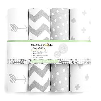 monochrome Modern farmhouse nursery Diaper changing covers changing table cover Changing pad cover in black /& white moroccan design