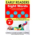 EARLY READER Sight Words - Book 4 - Highly Experienced Teachers: Easy Phrases & Simple Sentences using the Joining Words - Fo