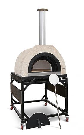 Wild Goose XXL, barbacoa de leña horno de barro, pizzas chimeneas: Amazon.es: Jardín
