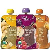 Plum Organics Stage 2, Organic Baby Food, Fruit, Veggie and Grain Variety Pack,...