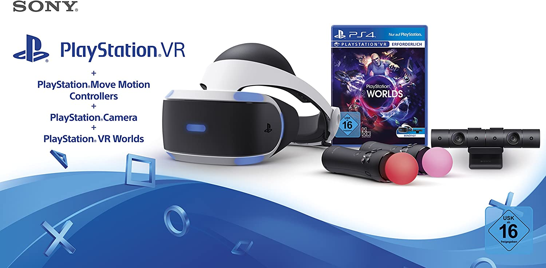 PlayStation 4 Virtual Reality + Camera + Move Twin Pack + VR ...
