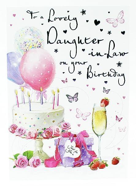 Bonita tarjeta de felicitación de cumpleaños para hija en la ...