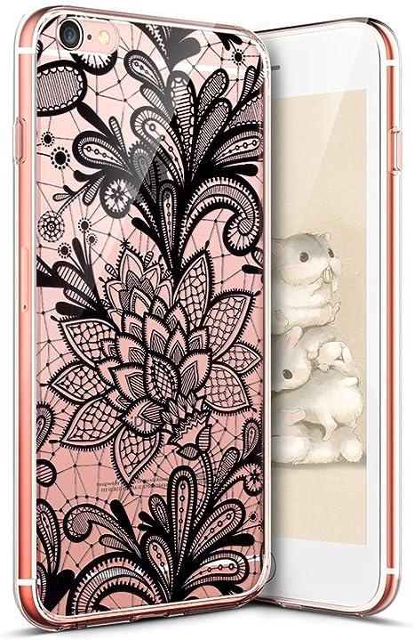 Surakey Compatibile con iPhone 6 iPhone 6S Cover Silicone Morbido