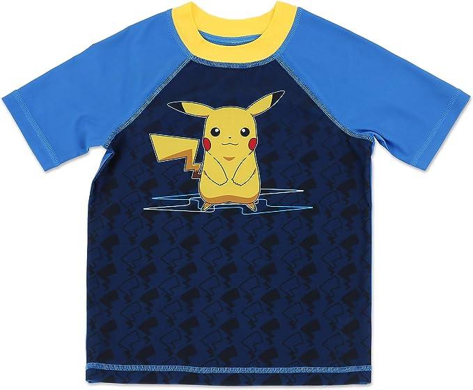 Authentic Pokemon Boys Swim Trunk UPF 50 Protection