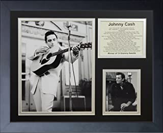 Legends Never Die'Johnny Cash II' Framed Photo Collage, 11 x 14-Inch