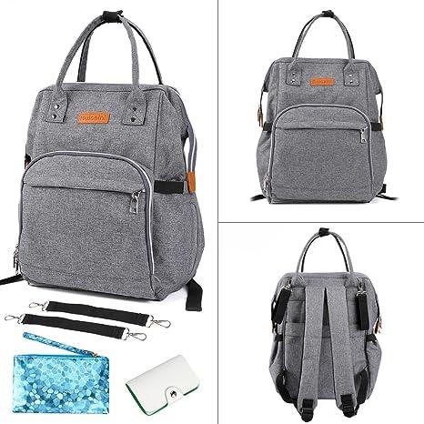 Bebé pañales bolso cambiador aonokoy Post maternidad para pañales organizador multifunción mochila de viaje – gran