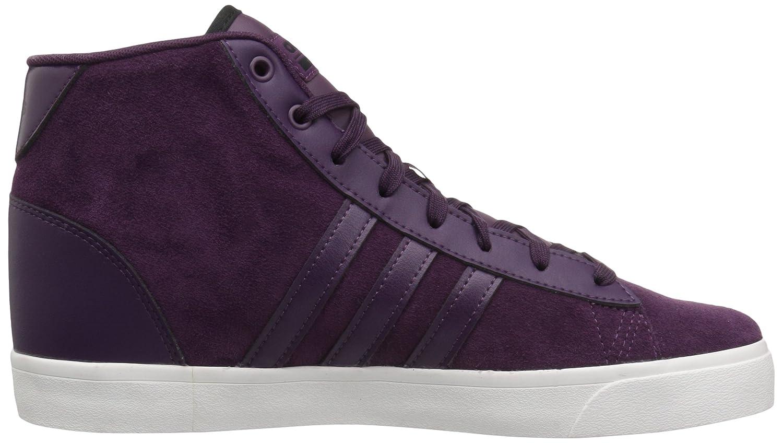 adidas Women's Cf Sneaker Daily Qt Mid W Sneaker Cf B01NAEU8O5 9 B(M) US|Red Night/Red Night/Black 19a850