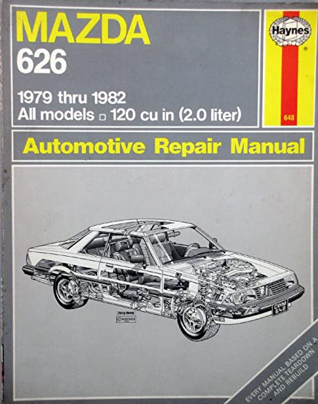amazon com 1979 1982 haynes repair manual mazda 626 coupe rh amazon com mazda 6 haynes repair manual pdf Mazda 626 Engines Cyl Heads Specifications
