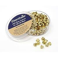 Eisenthaler 250 Ösen ET30-5.2mm, vermessingt, für 20-30 Blatt