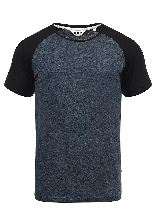 !Solid Bastian Camiseta Básica De Manga Corta T-Shirt para Hombre con Cuello Redondo