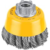 DEWALT Wire Cup Brush, Knotted, 3-Inch (DW4910)