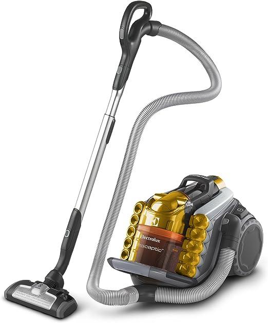 Electrolux UCANIMAL - Aspirador sin bolsa, anti-olor, especial para mascotas, color dorado metalizado: Amazon.es: Hogar