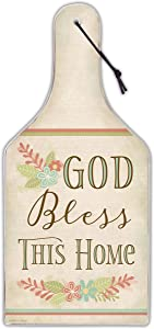 Abbey Gift God Bless This Home Cutting Board (57623)