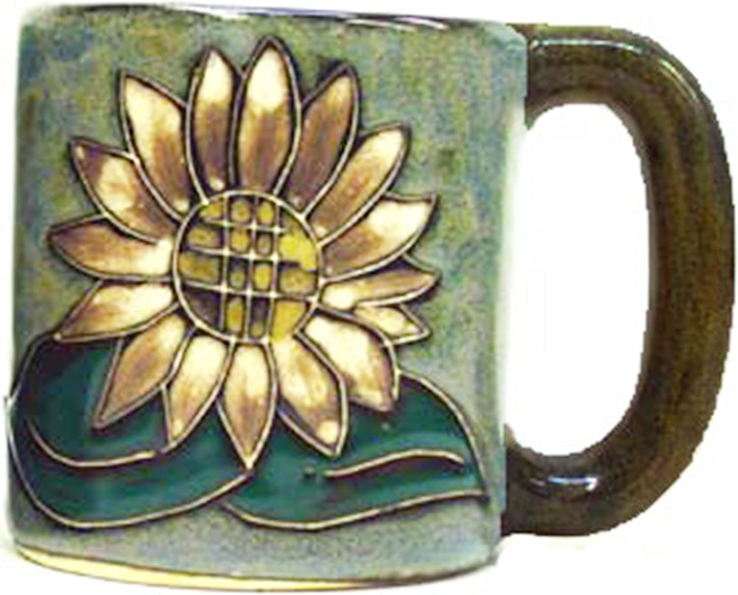 Mara Stoneware Mug - Sunflower - 16 oz