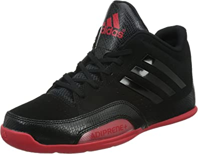 adidas 3 Series 2015, Zapatillas para Hombre, Negro/Rojo, 41 1/3 EU: Amazon.es: Zapatos y complementos