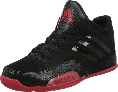 adidas 3 Series 2015, Zapatillas para Hombre, Negro/Rojo, 41 1/3 ...