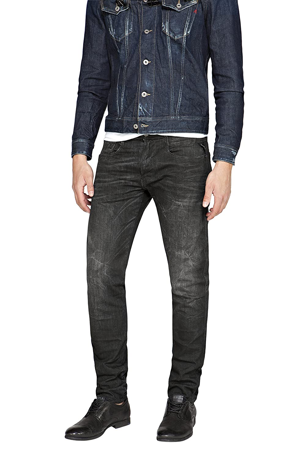 Replay Anbass, Jeans Hombre