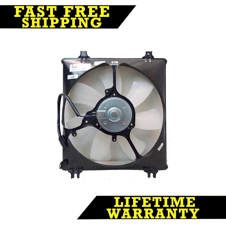 AC A/C CONDENSER COOLING FAN FOR HONDA FITS ACCORD 3.5 V6 6CYL HO3113127 Sunbelt Radiators